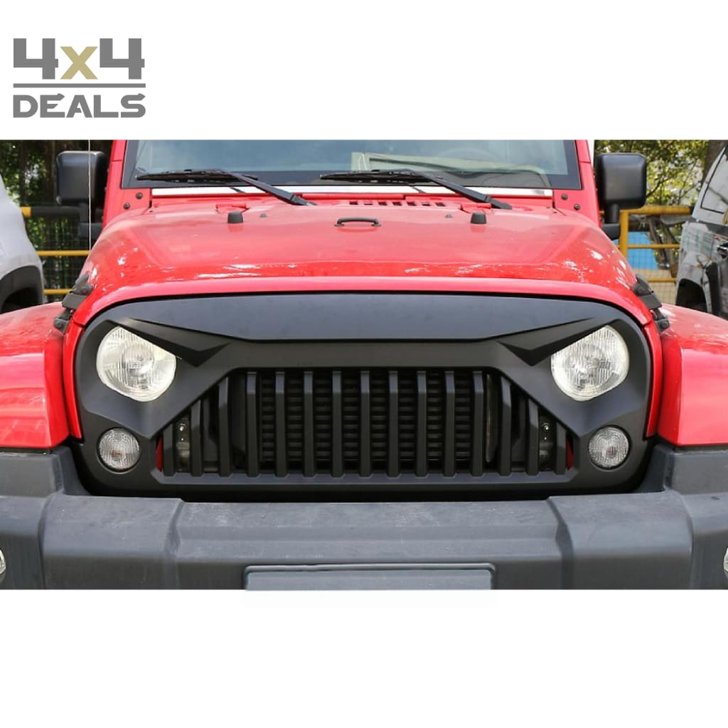 Ofd Grille Angry Eyes Voor Jeep Wrangler Jk Ofd Grille Angry Eyes Po