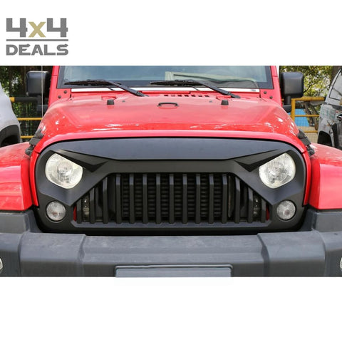 OFD grille Angry Eyes voor Jeep Wrangler JK | OFD grille Angry Eyes pour Jeep Wrangler JK