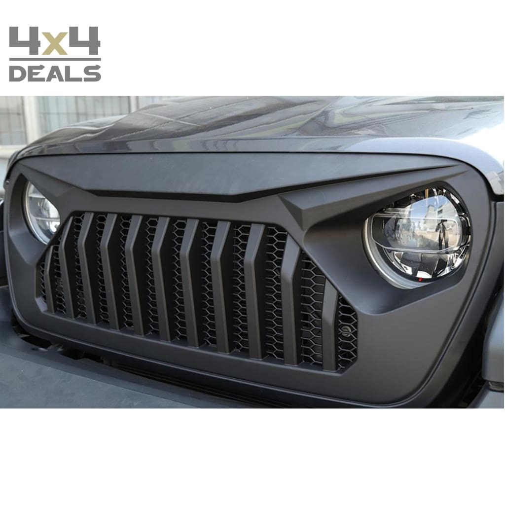 Ofd Grille Angry Eyes Voor Jeep Wrangler Jl Ofd Grille Angry Eyes Po