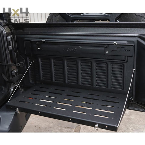 OFD Tailgate Table voor Jeep Wrangler JL | OFD Tailgate Table pour Jeep Wrangler JL