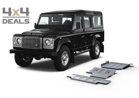Rival full skidplate voor Land Rover Defender 110 (2005+) | Rival ski de protection pour Land Rover Defender 110 (2005+)
