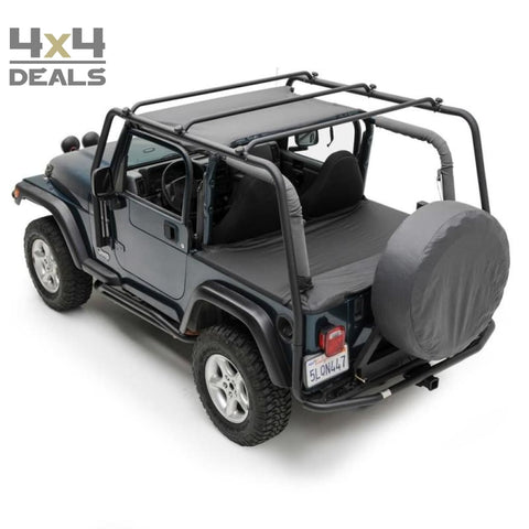 Roof Rack Smittybilt Src For Jeep Wrangler Tj