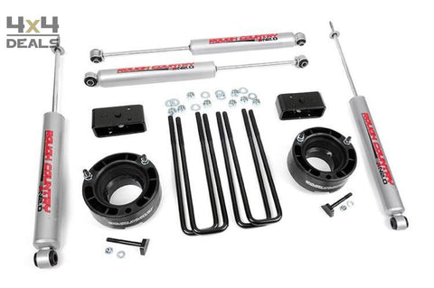 Rough Country 2 5 Lift Kit Voor Dodge Ram 1500 (94-01) | Rough Country 2 5 Lift Kit Pour Dodge Ram 1500 (94-01)