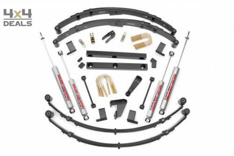 Rough Country 4 Lift Kit Voor Jeep Wrangler Yj | Rough Country 4 Lift Kit Pour Jeep Wrangler Yj