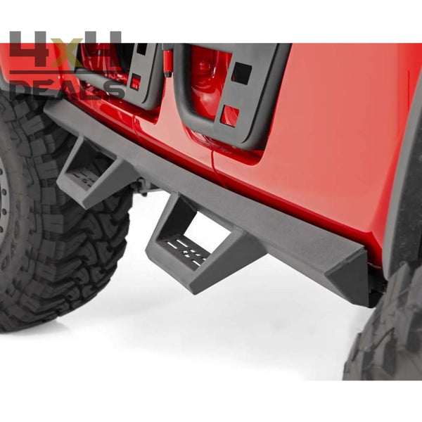Rough Country Drop Steps voor Jeep Gladiator | Rough Country Drop Steps pour Jeep Gladiator