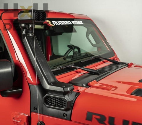 Rugged Ridge Amfib Snorkel Voor Jeep Gladiator Jt | 5 - 10 Werkdagen / Jours Ouvrés