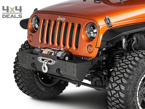 Rugged Ridge Center Section voorbumper XHD voor Jeep Wrangler JK | Rugged Ridge Center Section pare-chocs avant XHD pour Jeep Wrangler JK