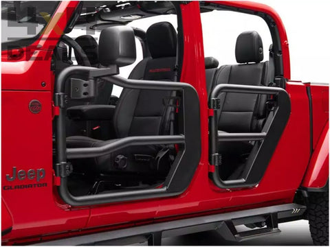 Rugged Ridge Steel Tube Doors Voor Jeep Gladiator Jt | Pour 5 - 10 Werkdagen / Jours Ouvrés