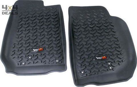Rugged Ridge Vloermatten Voor Jeep Wrangler Jk | Rugged Ridge Tapis De Sol Pour Jeep Wrangler Jk