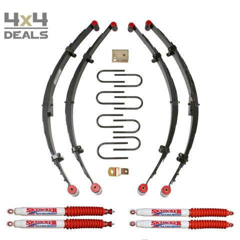 Skyjacker 4 Lift Kit Voor Jeep Wrangler Yj | Skyjacker 4 Lift Kit Pour Jeep Wrangler Yj