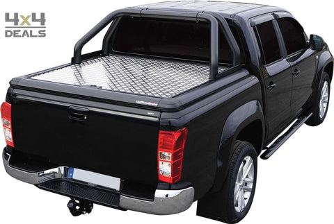 Upstone Black roll bar 76mm voor Isuzu D-Max Double Cab (2012+) | Upstone Black roll bar 76mm pour Isuzu D-Max Double Cab (2012+)