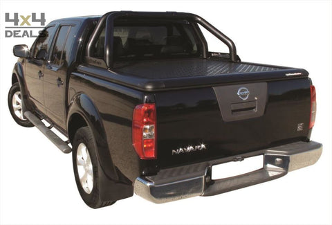 Upstone Black roll bar 76mm voor Nissan Navara D40 Double Cab | Upstone Black roll bar 76mm pour Nissan Navara D40 Double Cab