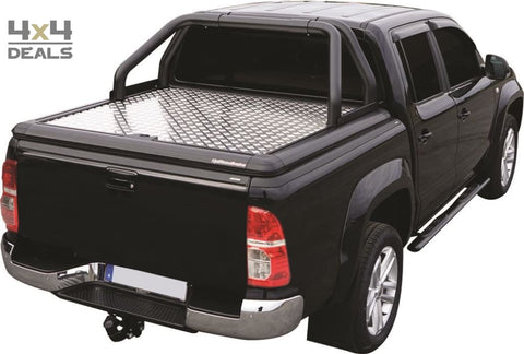 Upstone Black roll bar 76mm voor Toyota Hilux Double Cab (05-15) | Upstone Black roll bar 76mm pour Toyota Hilux Double Cab (05-15)