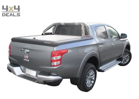 Upstone Inox roll bar 76mm voor Fiat Fullback Double Cab | Upstone Inox roll bar 76mm pour Fiat Fullback Double Cab