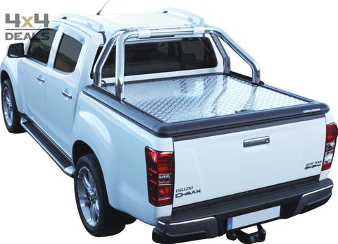 Upstone Inox roll bar 76mm voor Isuzu D-Max Double Cab (2012+) | Upstone Inox roll bar 76mm pour Isuzu D-Max Double Cab (2012+)