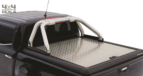 Upstone Inox roll bar 76mm voor Renault Alaskan Double Cab | Upstone Inox roll bar 76mm pour Renault Alaskan Double Cab