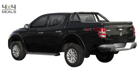 Upstone Tonneau Cover Black Voor Fiat Fullback Double Cab (2016+) | Tonneau Cover Black Pour Fiat Fullback Double Cab (2016+)