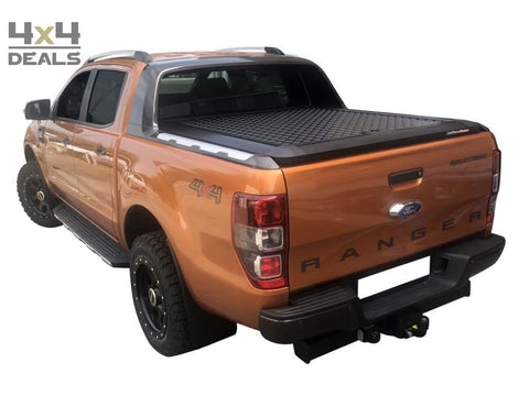 Upstone Tonneau Cover Black voor Ford Ranger WILDTRAK Double Cab (2012+) | Upstone Tonneau Cover Black pour Ford Ranger WILDTRAK Double Cab