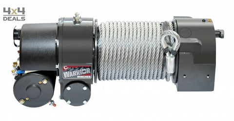 Warrior Worm Wiel Lier 24 Volt | Warrior Treuil 24 Volts