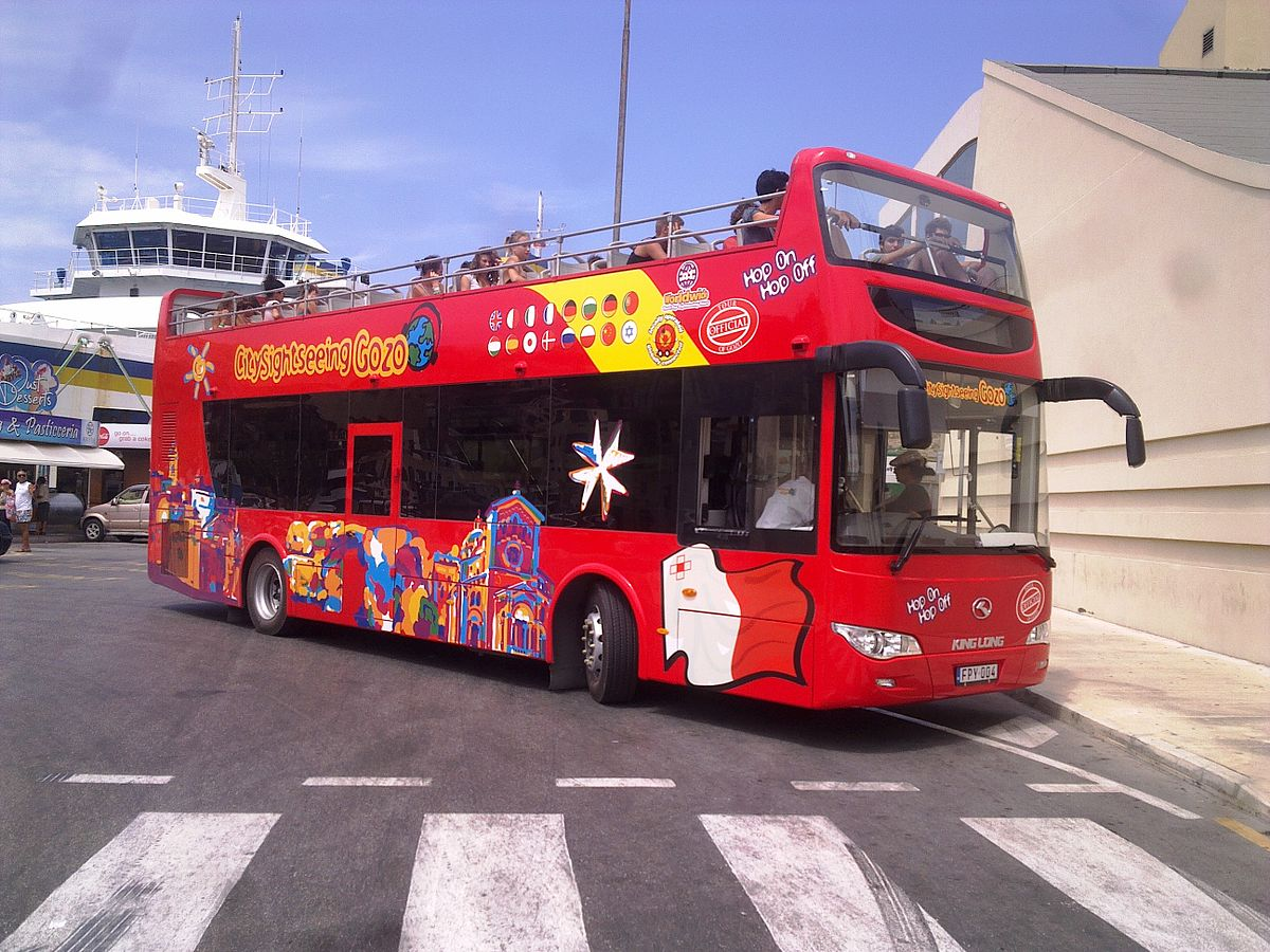 Red bus, cape town, city sightseeing, wheelchair friendly