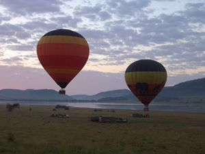 Hot Air Balloon Safari at Dawn