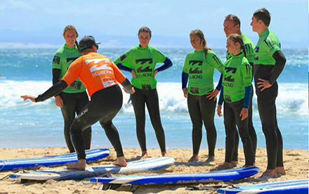 Group Surf Lesson Jeffreys Bay