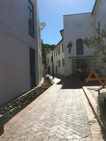 Alleyway in Stellenbosch