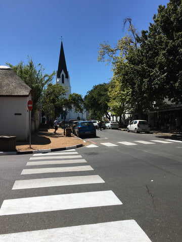 Church Street in Stellenbosch