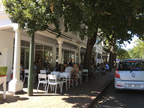 Cafe in Stellenbosch