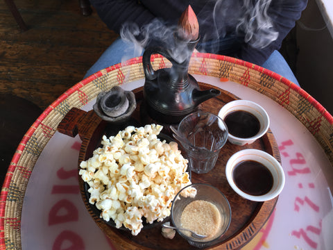 Addis in Cape - Coffee Ceremony