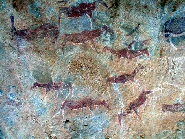 Liphofung Bushman Rock Art, 7 Day Roof of Africa, Drakensberg and Lesotho Tour