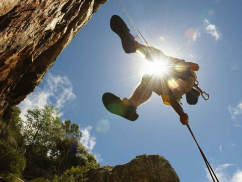 Abseiling on 6 Day Garden Route Tour