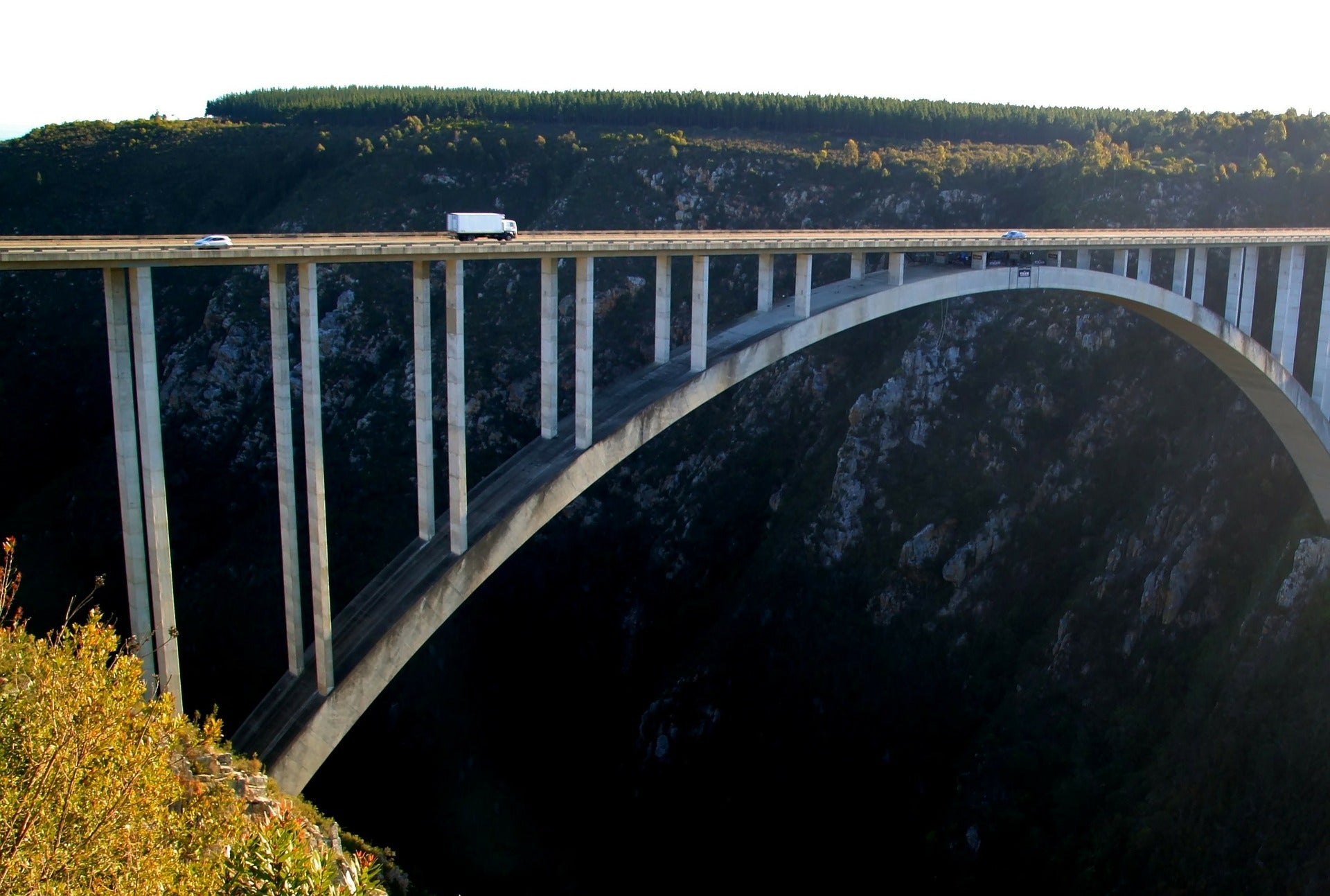 Bloukrans Bridge World's Highest Bungy Jump South Africa