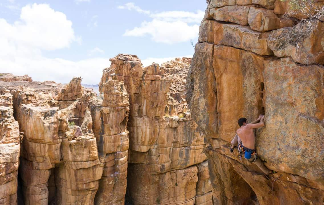 Cederberg Climbing Beautiful South Africa