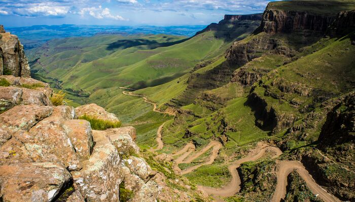 Sani Pass, 7 Day Roof Of Africa Drakensberg Lesotho Tour