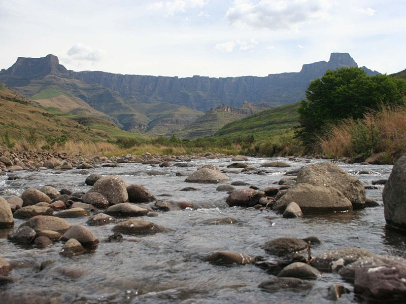 Tugela River, 7 Day Roof of Africa, Drakensberg and Lesotho Tour