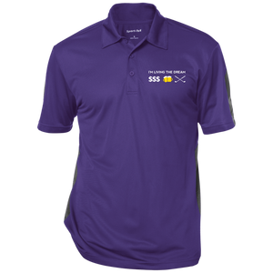 Sport-Tek Textured Golf Polo