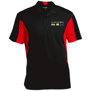 Sport-Tek Performance Textured Men's Golf Polo Shirt ST655-LTD