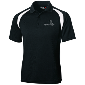 Golfers Heartbeat Polo