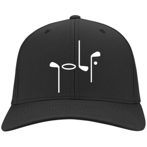Abstract Golf Flex Fit Cap