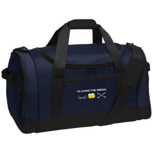 Living The Dream Travel Sports Duffel