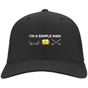 I'm A Simple Man Cap