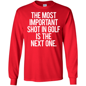 The Most Important Shot In Golf Is The Next One