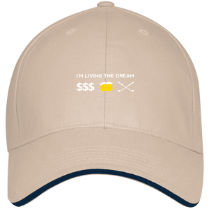 Living The Dream Twill Cap