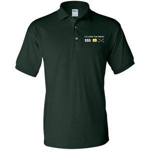 Gildan Jersey Golf Polo Shirt