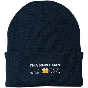 I'm A Simple Man Beanie