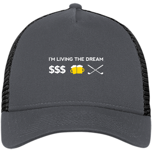 Living the Dream Snapback Trucker Cap