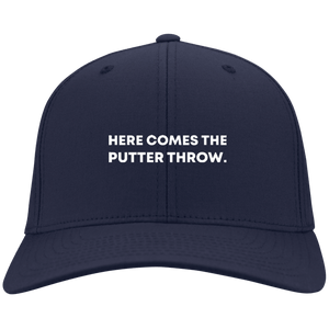 Here Comes The Putter Throw Flex Fit Cap
