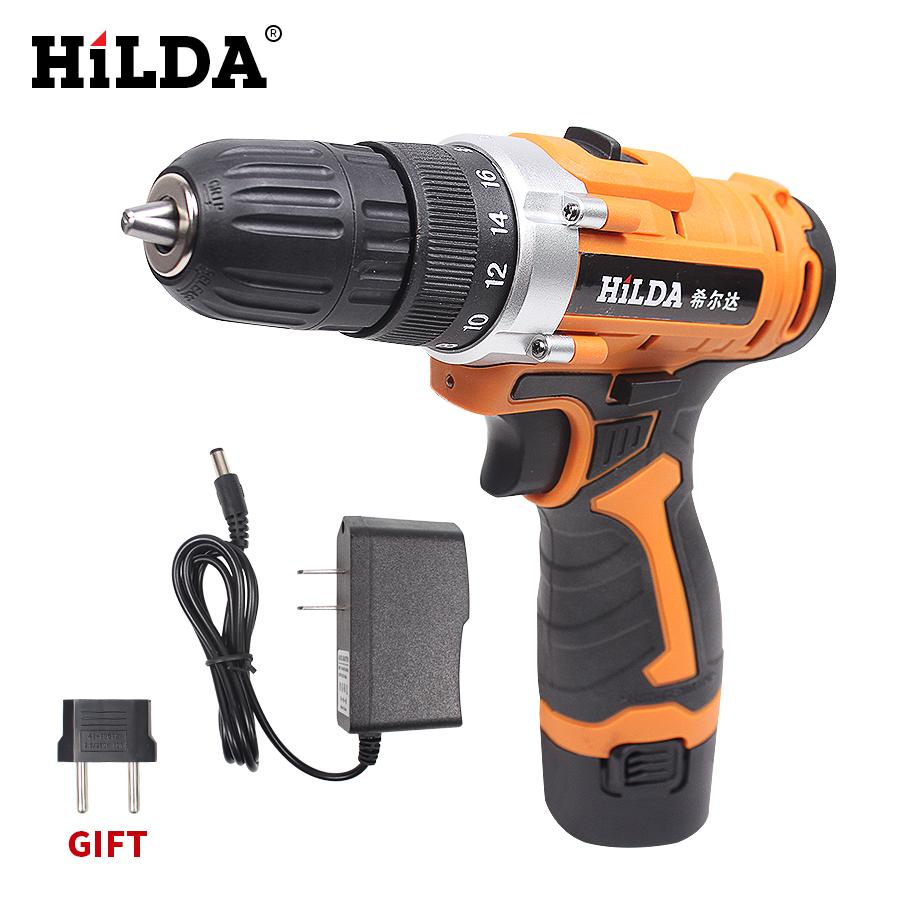 12V Electric Screwdriver Lithium Battery Rechargeable Screwdriver