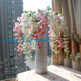 1PCS Artificial Wisteria Silk Flower Home Wedding Bouquet Party